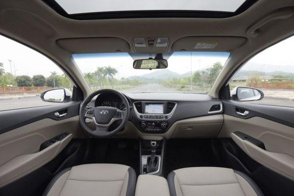 Thông số kĩ thuật chi tiết - Hyundai  Accent