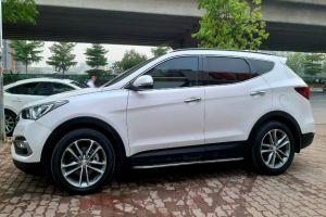 [BÁN] Hyundai Santafe 2.4AT xe 2 cầu màu Trắng [xetot360]